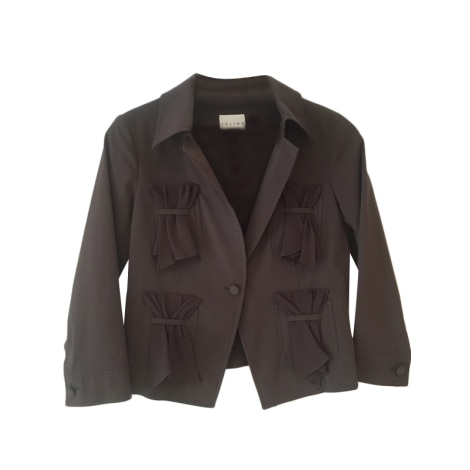 Blazer, veste tailleur CÉLINE Marron