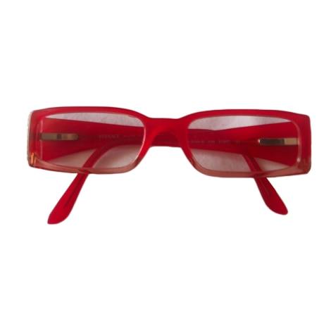Monture de lunettes VERSACE Rouge, bordeaux