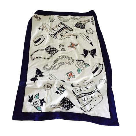 Sarong Chanel One Size White New Sold By Sibylle 2 55 3689758