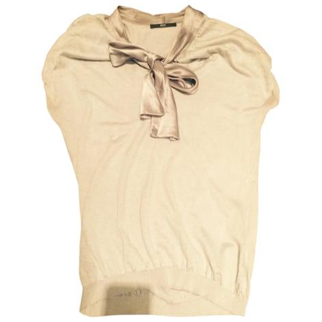 Top, tee-shirt HUGO BOSS Gris, anthracite