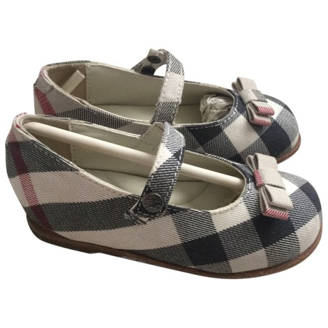 Chaussures à boucle BURBERRY Beige, camel