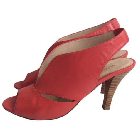 Sandales à talons MINELLI Rose, fuschia, vieux rose
