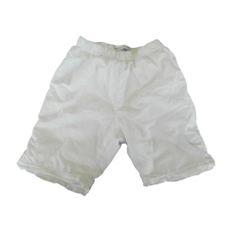 Pantalon JEAN BOURGET Blanc, blanc cassé, écru