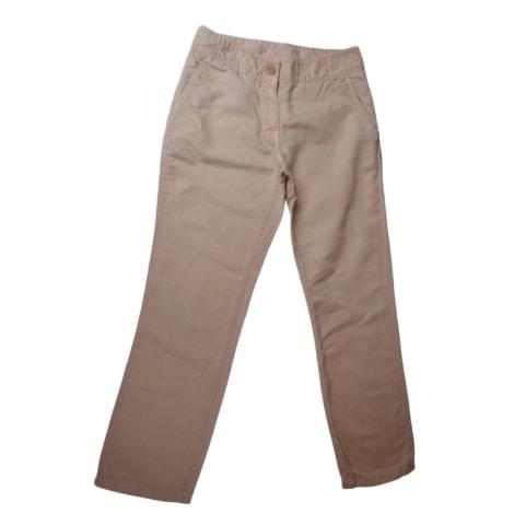 Pantalon carotte PRADA pêche pâle