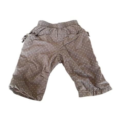 Pantalon JEAN BOURGET Marron
