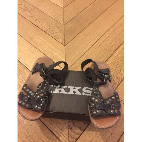 Sandales IKKS Noir