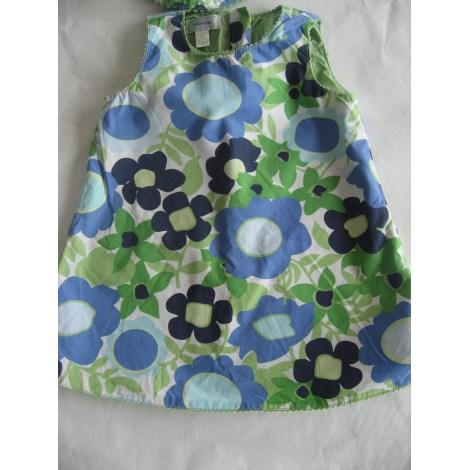 Robe GAP bleu vert blanc