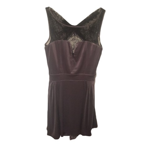 Robe dos nu GUESS Gris, anthracite
