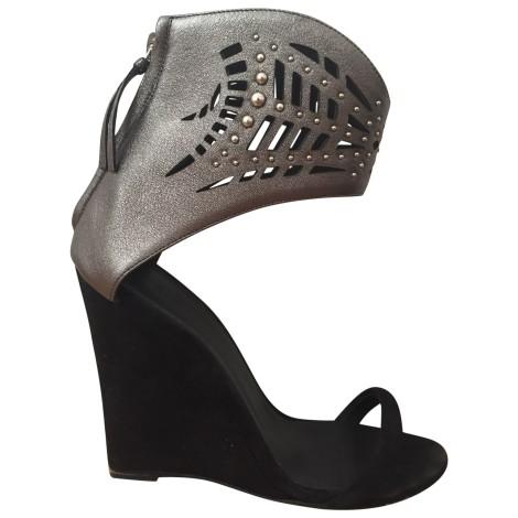 Sandales à talons IRO Noir