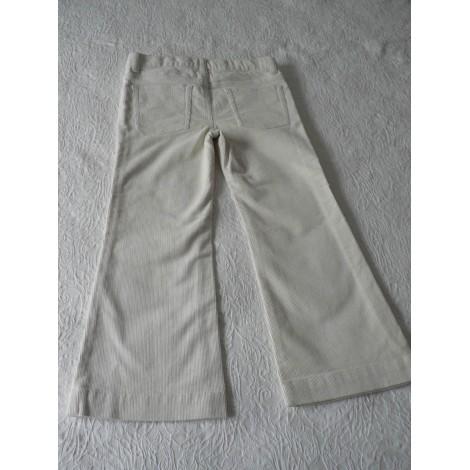 Pantalon RALPH LAUREN Blanc, blanc cassé, écru