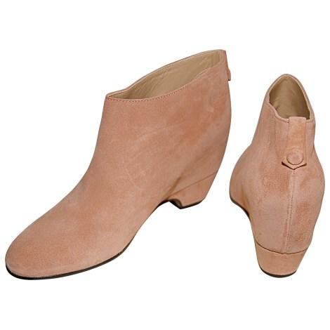 Bottines & low boots à compensés GOLDEN GOOSE Rose, fuschia, vieux rose
