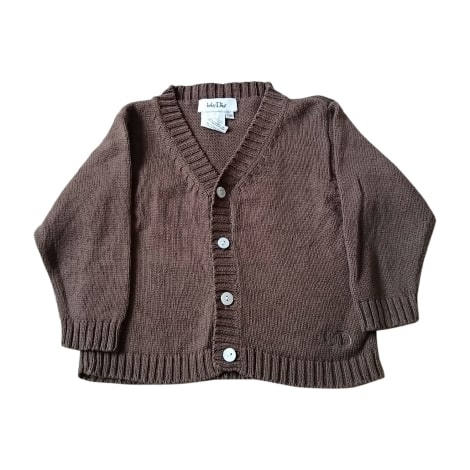 Vest, Cardigan BABY DIOR Brown