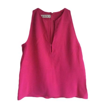 Top, tee-shirt MARNI Rose, fuschia, vieux rose