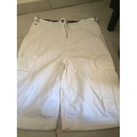 Bermuda TOMMY HILFIGER Blanc, blanc cassé, écru