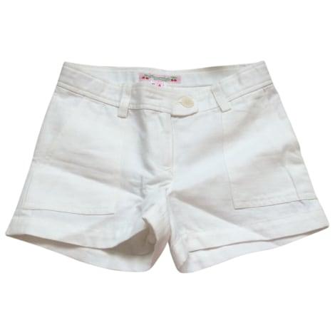 Short BONPOINT Blanc, blanc cassé, écru