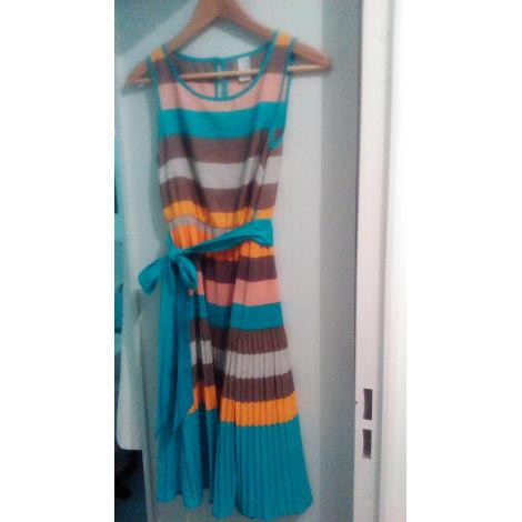 Robe mi-longue VILA Multicouleur