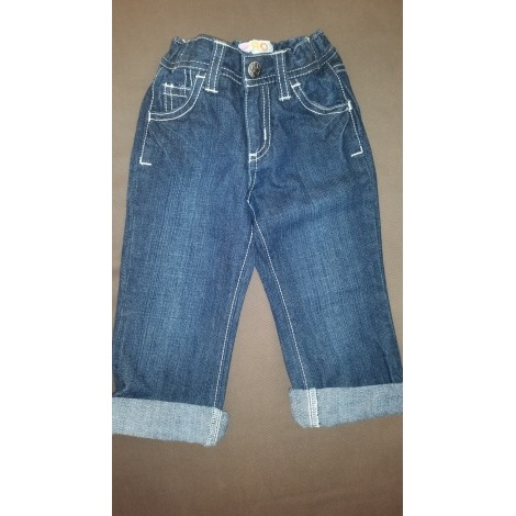 Jeans droit ROXY Bleu, bleu marine, bleu turquoise