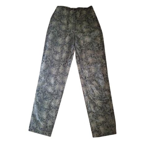 Pantalon droit MARQUE INCONNUE Kaki