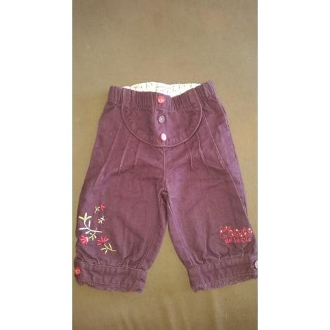 Pantalon LA COMPAGNIE DES PETITS Violet, mauve, lavande