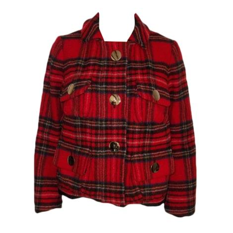 Manteau SONIA RYKIEL Rouge, bordeaux
