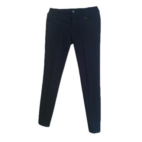 Pantalon slim, cigarette CLUB MONACO Bleu, bleu marine, bleu turquoise