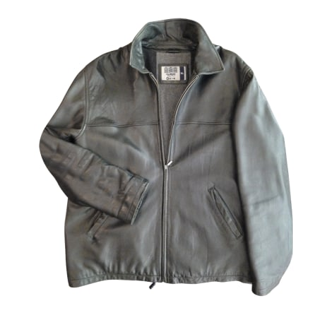 Leather Jacket SERGE BLANCO Black