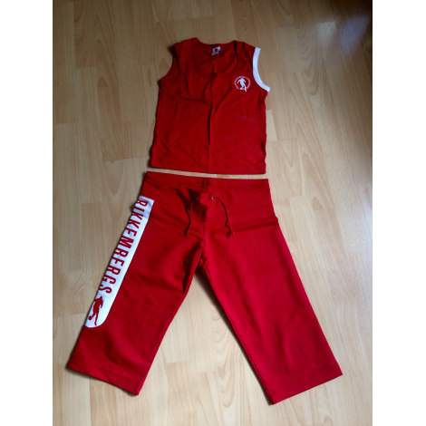 Pantalon de survêtement DIRK BIKKEMBERGS Rouge, bordeaux