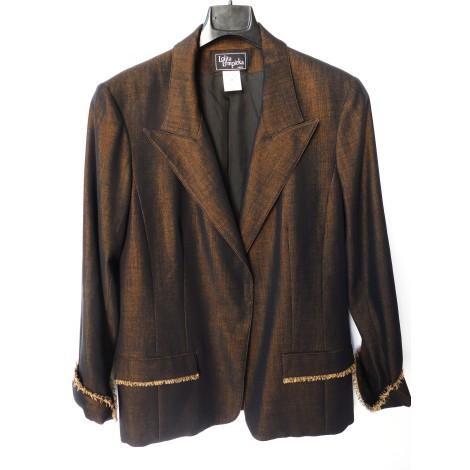 Blazer, veste tailleur LOLITA LEMPICKA Doré, bronze, cuivre