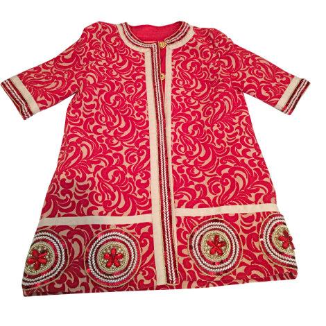 Manteau MANOUSH Rouge, bordeaux