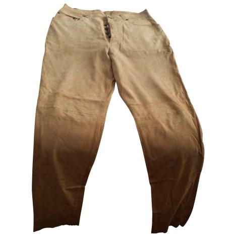 Pantalon droit MAC DOUGLAS Beige, camel