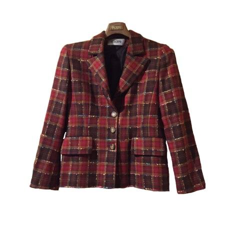 Blazer, veste tailleur ELECTRE Rouge, bordeaux
