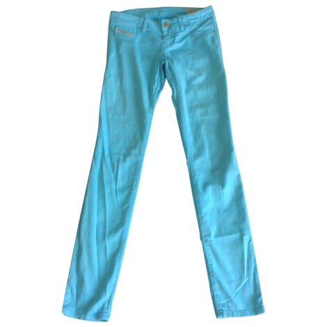Pantalon DIESEL Bleu, bleu marine, bleu turquoise