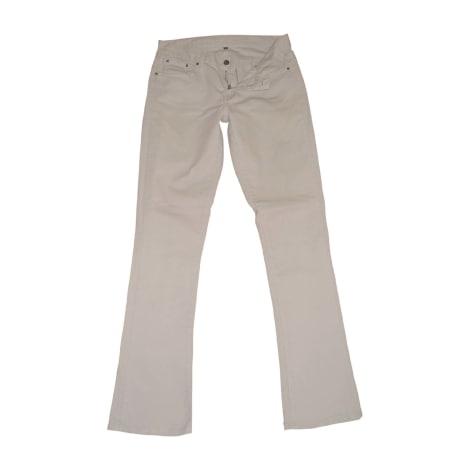 Jeans évasé, boot-cut RALPH LAUREN Beige, camel