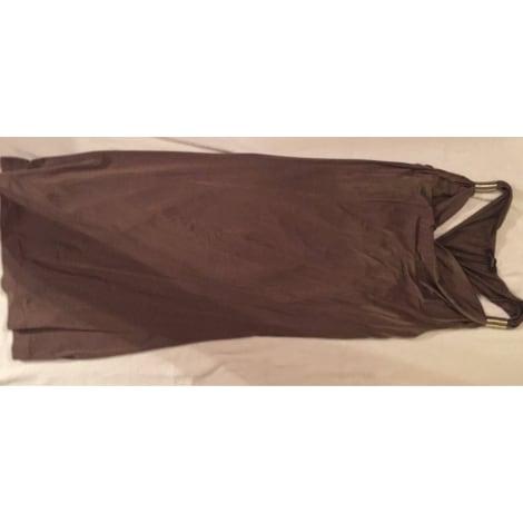 Robe courte SINÉQUANONE Beige, camel