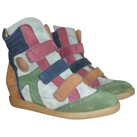 Bottines & low boots à compensés PATAUGAS Multicouleur