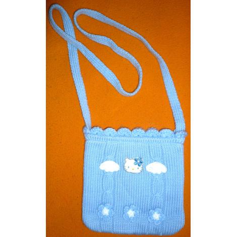 Sac HELLO KITTY Bleu, bleu marine, bleu turquoise