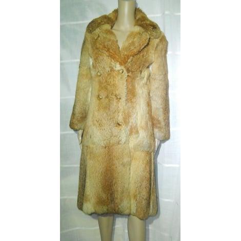 Manteau en fourrure MARQUE INCONNUE Imprimés animaliers