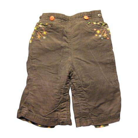 Pantalon SERGENT MAJOR Marron