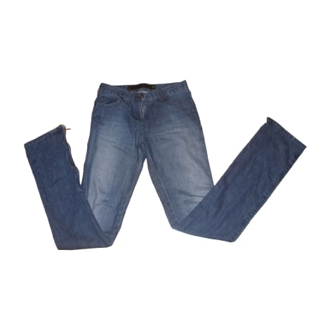 Jeans droit BARBARA BUI Bleu, bleu marine, bleu turquoise