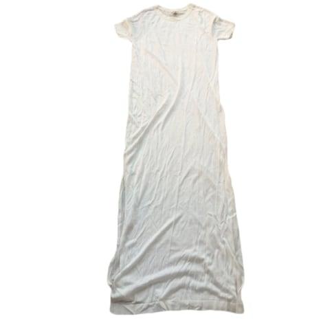Robe tunique HERMÈS Blanc, blanc cassé, écru