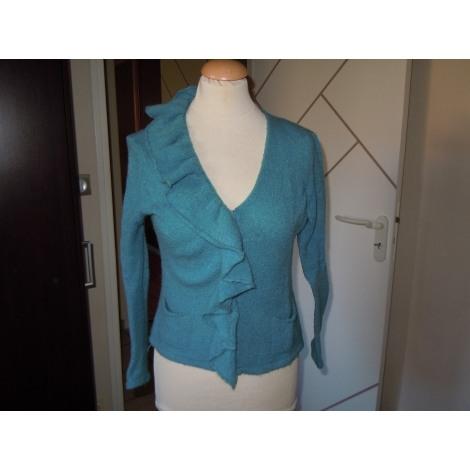 Top, tee-shirt LA FÉE MARABOUTÉE Bleu, bleu marine, bleu turquoise