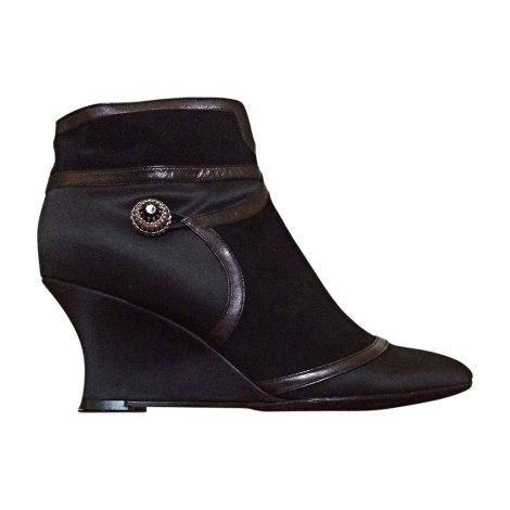 Bottines & low boots à compensés KENZO Noir