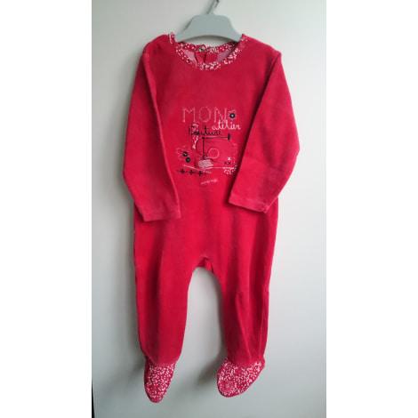 Pyjama SUCRE D'ORGE Rouge, bordeaux