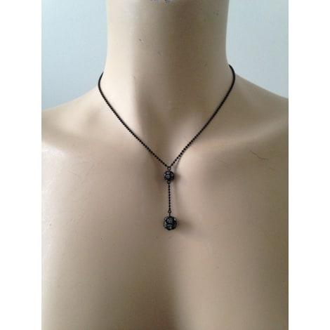 Pendentif, collier pendentif AGATHA Noir