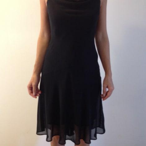Robe mi-longue CAMAIEU Noir