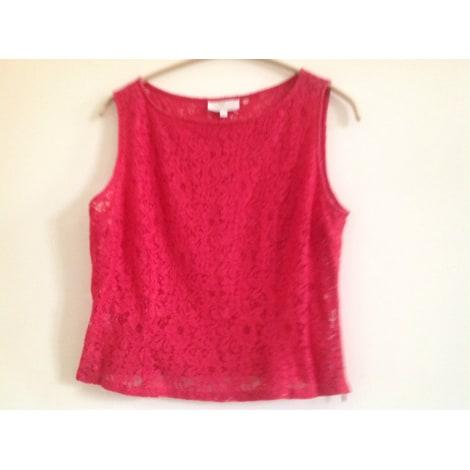 Top, tee-shirt VENTILO CHEMISE BLANCHE Rouge, bordeaux