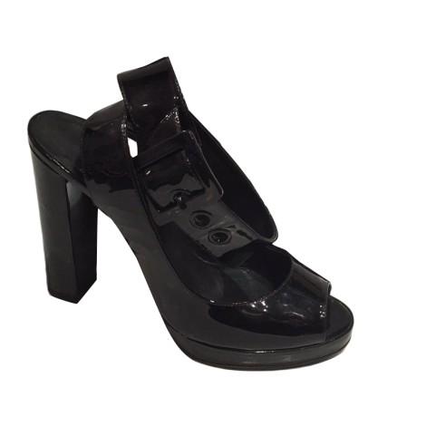 Sandales à talons PIERRE HARDY Noir