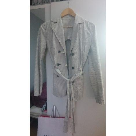 Blazer, veste tailleur ST JAMES Blanc, blanc cassé, écru