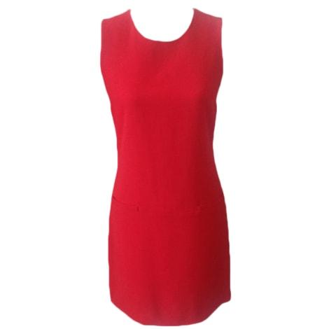 Robe courte CAROLL Rouge, bordeaux