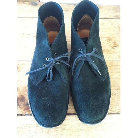 Chaussures à lacets  CLARKS Noir